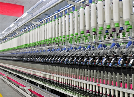 Humidification dans l'industrie textile